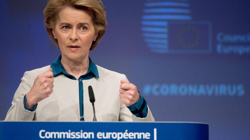 UE, koronawirus, COVID19, Ursula von der Leyen, pandemia