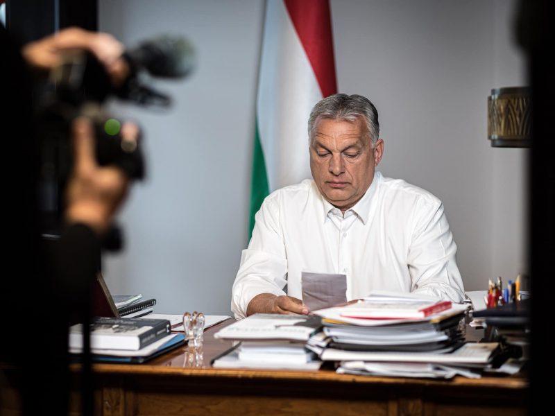Premier Węgier Viktor Orban [foto via @Viktor Orban Facebook]