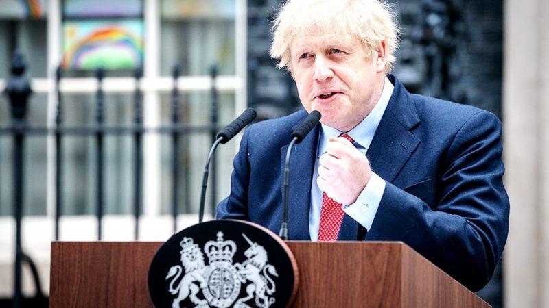Premier Wielkiej Brytanii Boris Johnson, gov.uk