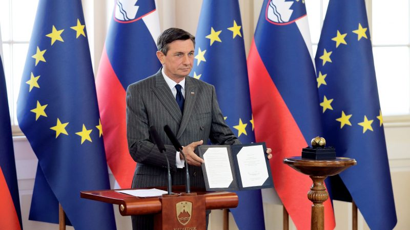 Prezydent Słowenii Borut Pahor [twitter]