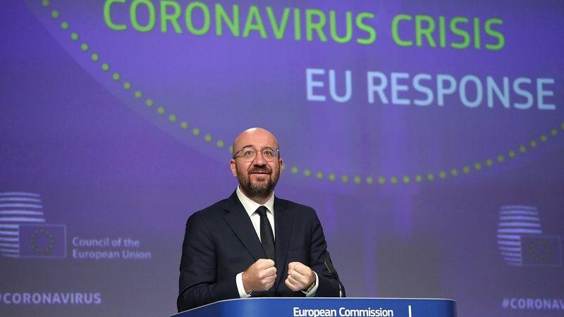 Szef Rady Europejskiej Charles Michel ws. odpowiedzi UE na koronawirusa, źródło consilium