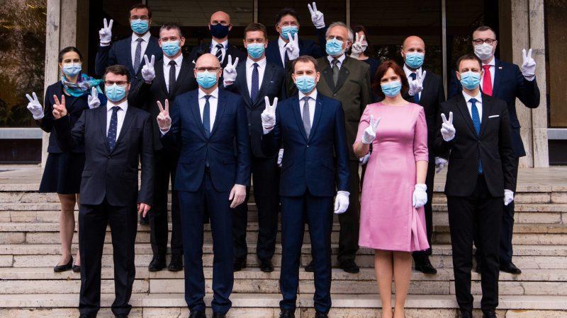 Rząd Igora Matovica, fot. Słowackie przedstawicielstwo przy ONZ [Twitter]