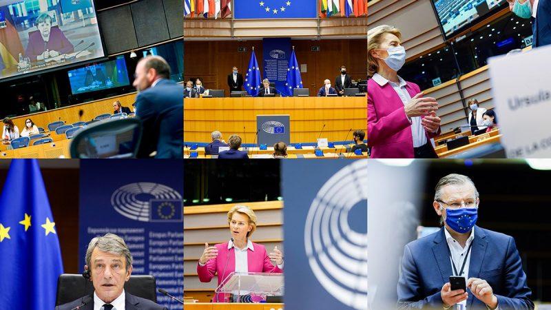 Ogłoszenie nowego projektu budżetu UE na lata 2021-2027 [foto via @ European Parliament Facebook]