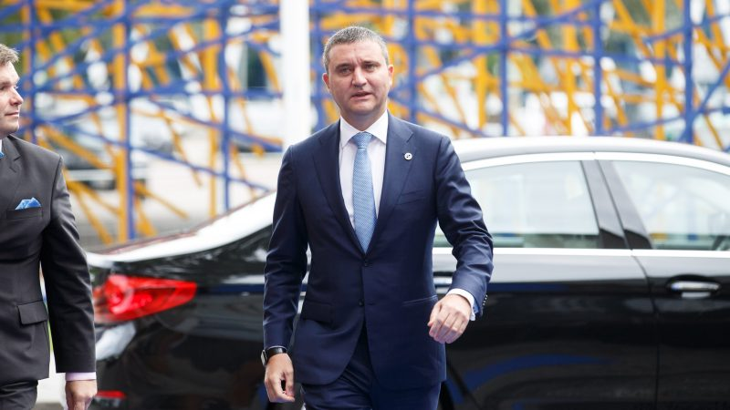 Minister finansów Bułgarii Władisław Goranow, fot. Estońska Prezydencja w Radzie UE [Flickr]