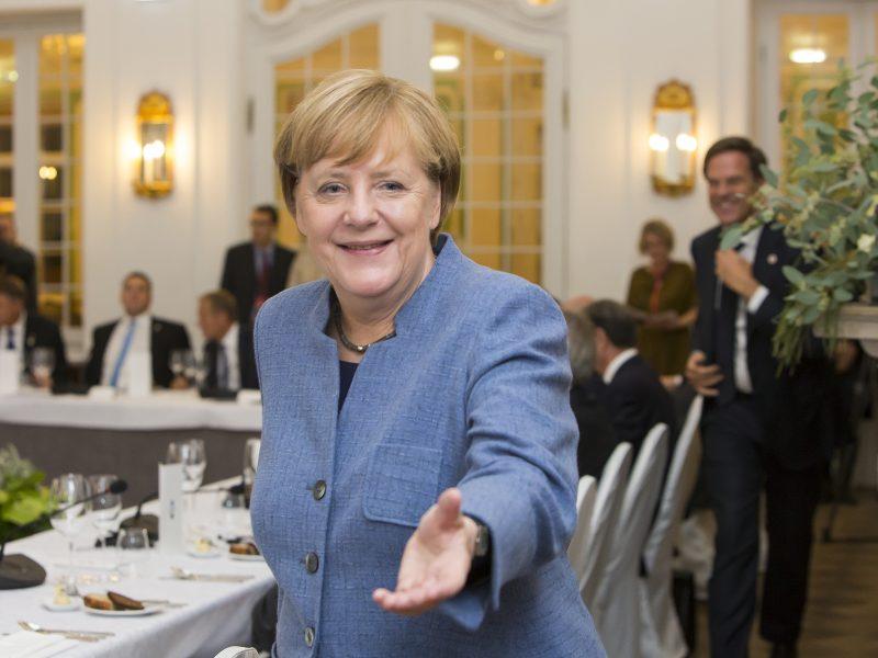 Kanclerz Niemiec Angela Merkel, fot. EU2017EE Estonian Presidency [Flickr]