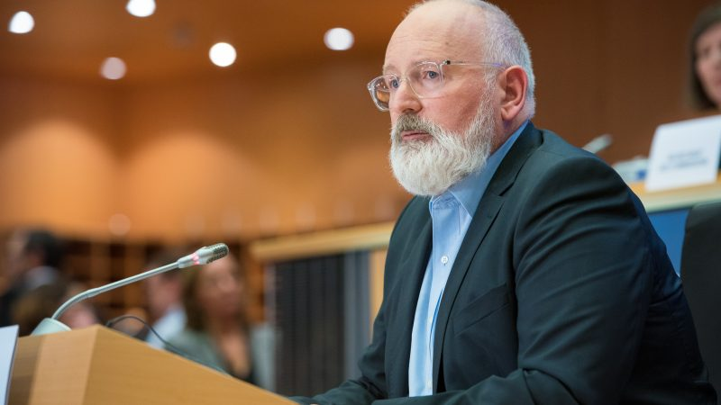 Frans Timmermans, fot. European Parliament [Flickr]