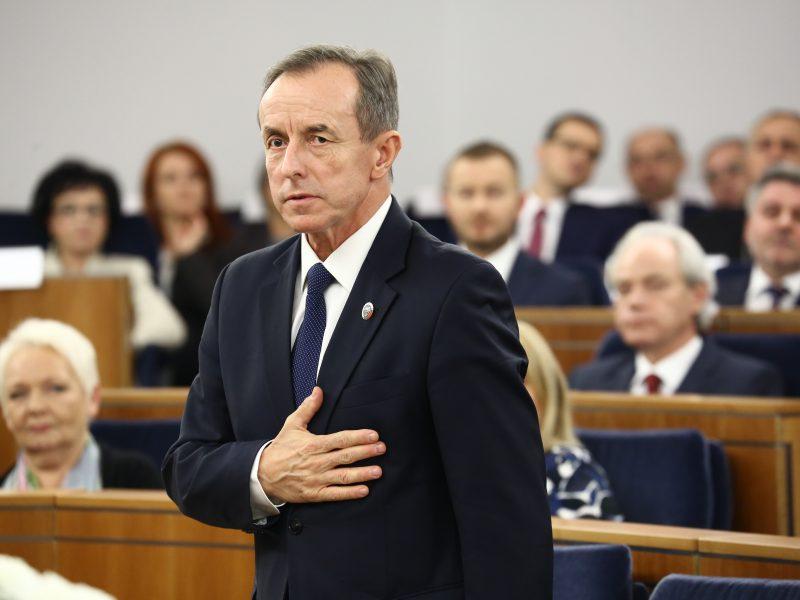 Marszałek Senatu, prof. Tomasz Grodzki, fot. Senat RP [Flickr]