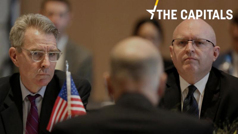 Ambasador USA w Grecji Geoffrey R. Pyatt zapewnia o wsparciu swojego rządu dla Aten.