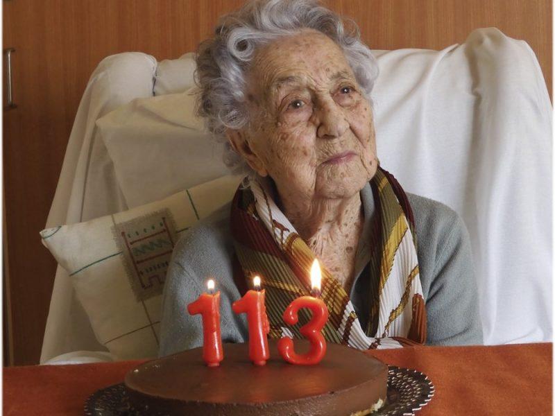 Pokonała koronawirusa w wieku 113 lat