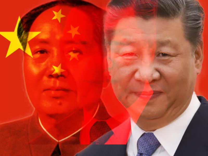Mao Zedong / Xi Jinping (Fot: Adnilton Farias/VPR / CC BY 2.0). Opracowanie graficzne: EURACTIV.pl - Wszelkie prawa zastrzeżone