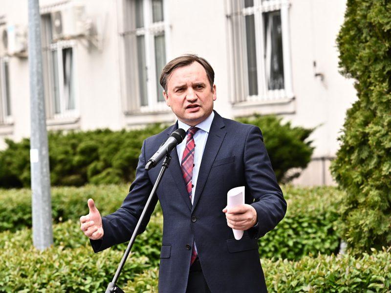 Minister sprawiedliwości Zbigniew Ziobro, fot. Twitter