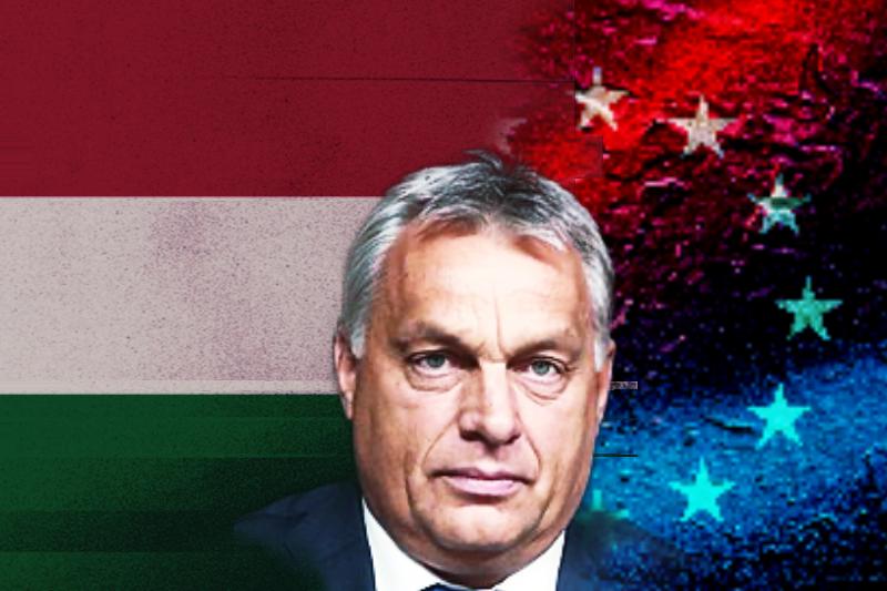 Premier Węgier Viktor Orban, fot. Wikipedia. Opracowanie graficzne: EURACTIV.pl