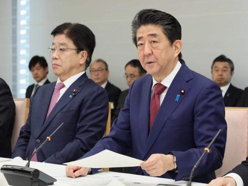 Premier Japonii Shinzo Abe, fot. Twitter