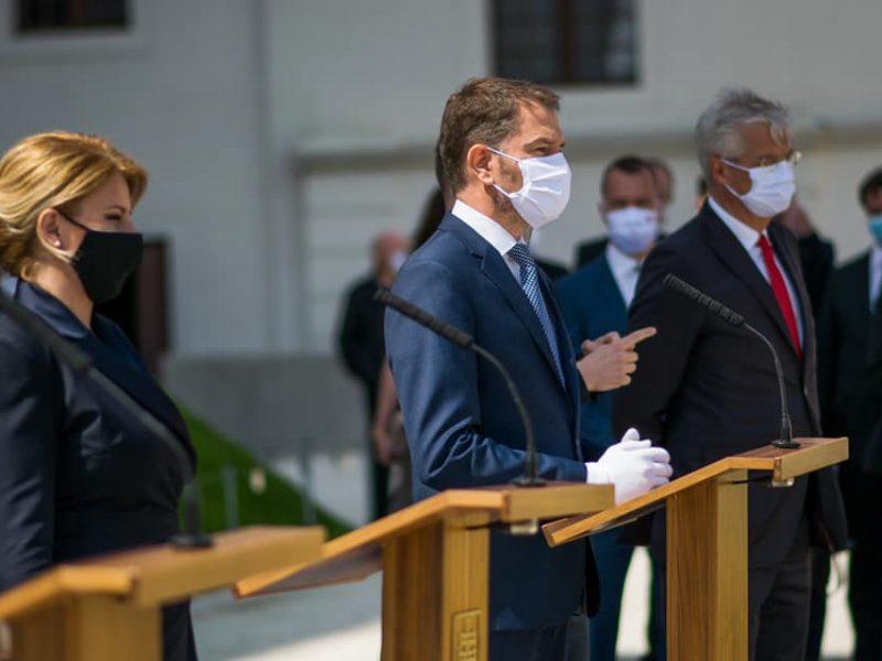 Premier Słowacji Igor Matowicz [foto via @ Matovicz Facebook]