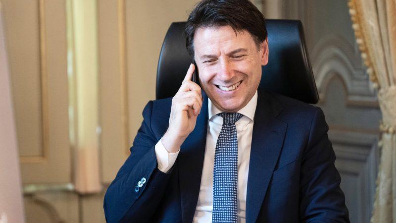 Premier Włoch Giuseppe Conte, fot. Twitter