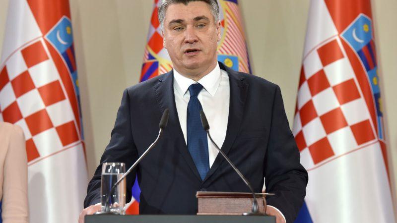 Prezydent Chorwacji Zoran Milanović, fot. Facebook