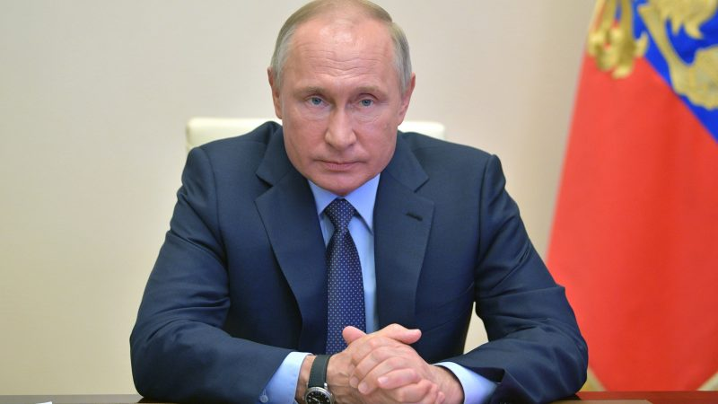 Prezydent Rosji Władimir Putin, fot. President of Russia [Twitter]