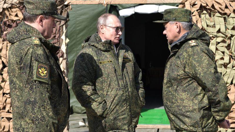 Prezydent Rosji Władimir Putin [ foto via @Władimir Putin Facebook]