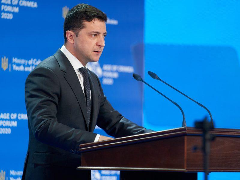 Prezydent Ukrainy Wołodymyr Zełenski, fot. Twitter