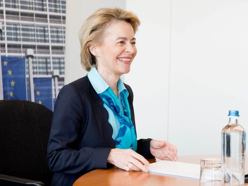 Przewodnicząca Komisji Europejskiej Ursula von der Leyen, fot. Twitter