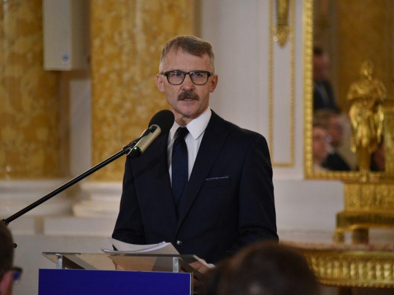 Przewodniczący neo-KRS Leszek Mazur, fot. KRS