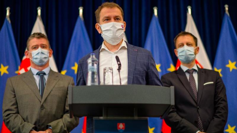 lockdown, Słowacja, pandemia, Matovič, COVID19, SARS-CoV-2