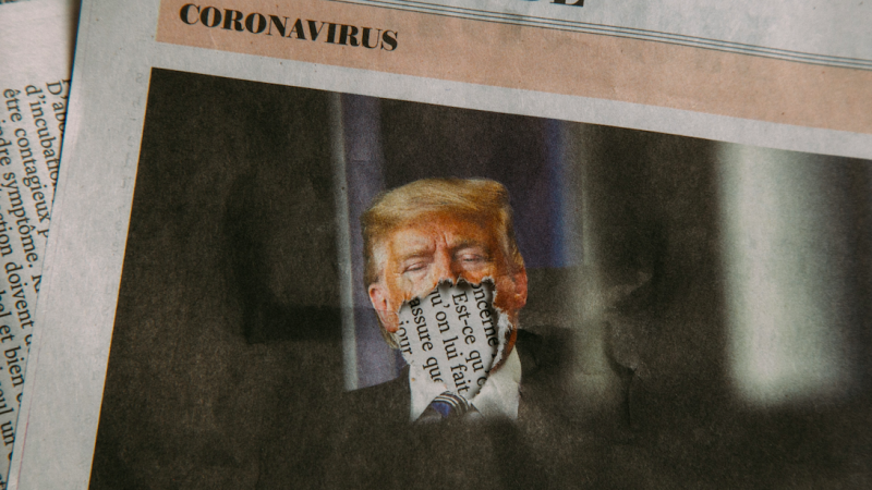 Donald Trump oskarża WHO o zbytniązależność od Chin. Chce też zmian w spotkaniach G7 (Photo by Charles Deluvio on Unsplash)