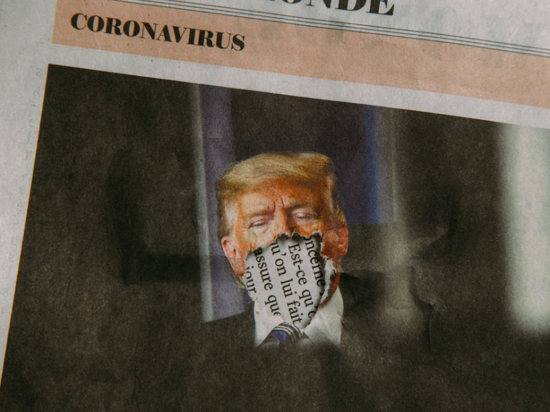 Twitter na stałe zablokował konto Donalda Trumpa (Photo by Charles Deluvio on Unsplash)