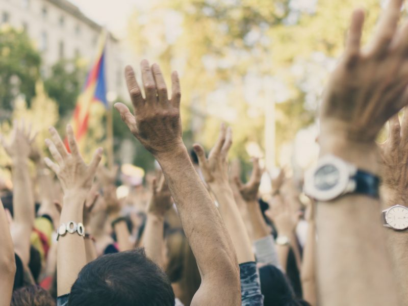 Protest, fot. Chris Slupski [Unsplash]