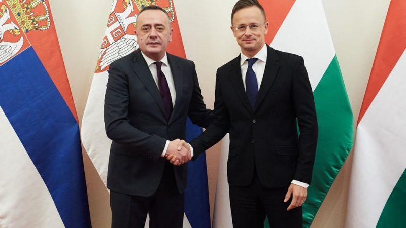 Serbia i Węgry ściśle współpracyją w dziedzinie energetyki i dostaw gazu.