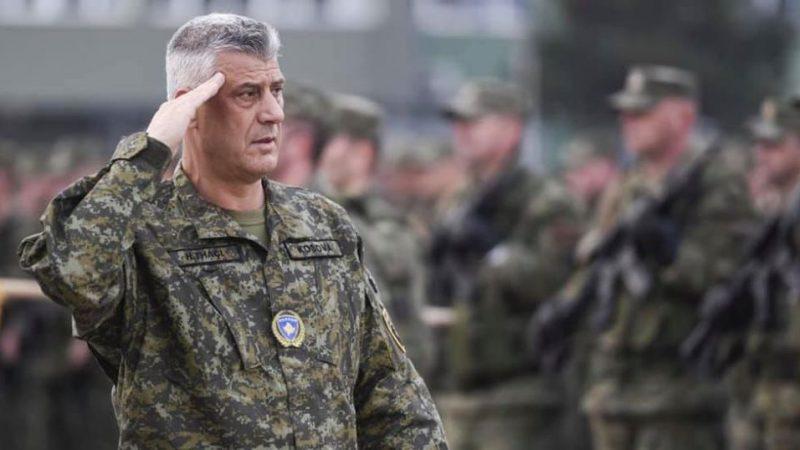 Prezydent Kosowa Hashim Thaci, został oskarżony w środę (24 czerwca) przez Specjalnej Izby Sądowej Kosowa (KSC) trybunału w Hadze o popełnienie zbrodni wojennych.