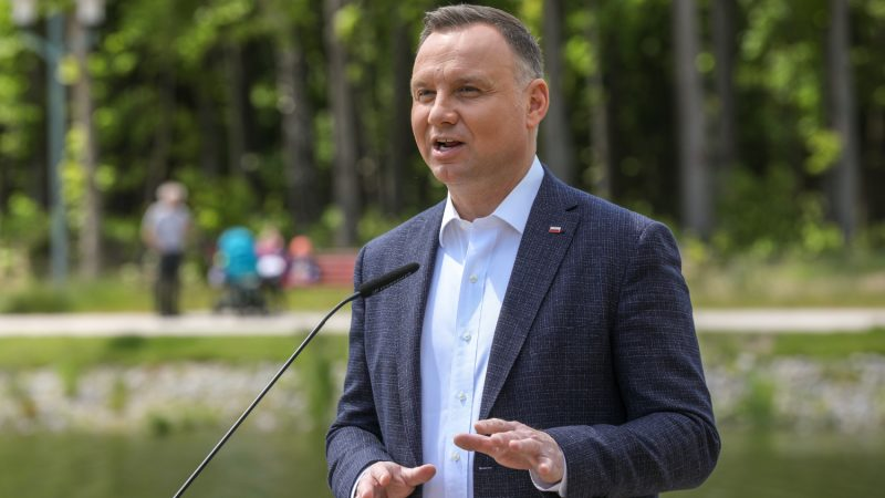 Prezydent Andrzej Duda, fot. Kancelaria Prezydenta