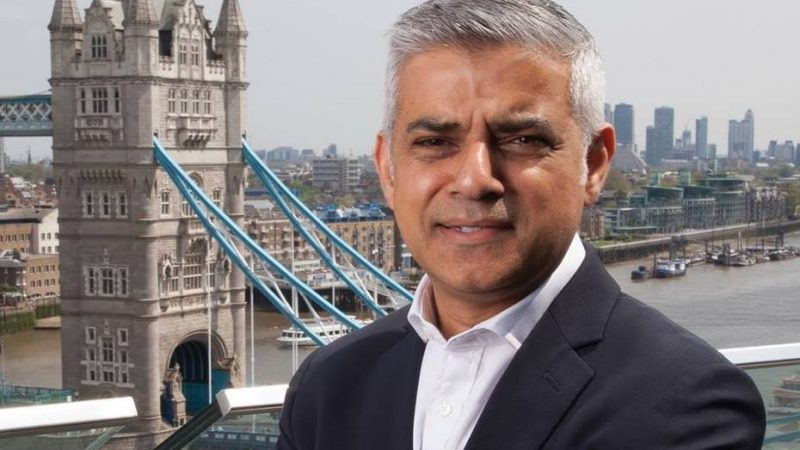 burmistrz Londynu Sadiq Aman Khan [foto via@ Mayor of London Facebook]