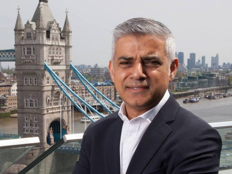 burmistrz Londynu Sadiq Aman Khan [foto via@ Mayor of London Facebook]