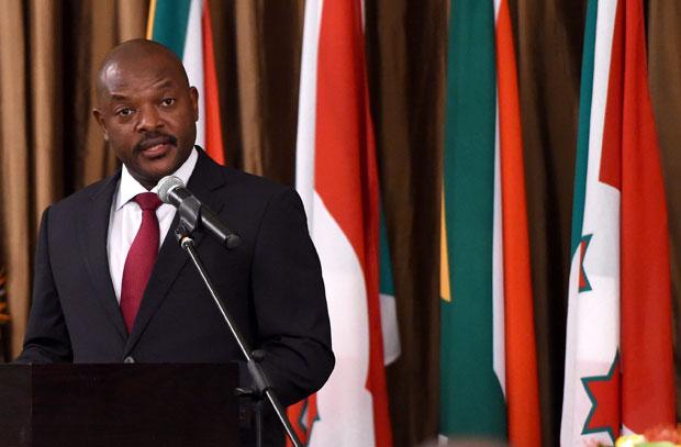 Nieżyjący już prezydent Burundi Pierre Nkurunziza, źródło: Flickr/GovernmentZA, fot. DOC (CC BY-ND 2.0)