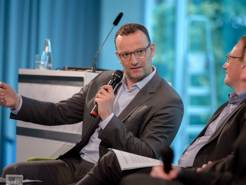 Minister zdrowia Niemiec Jens Spahn, fot. Heinrich Böll-Stiftung [Flickr]