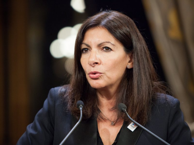 Anne Hidalgo (na zdj.) jest faworytką sondaży w rywalizacji o stanowisko mera Paryża. / Foto via flickr @Human Rights for All, licencja (CC BY-NC-ND 2.0)