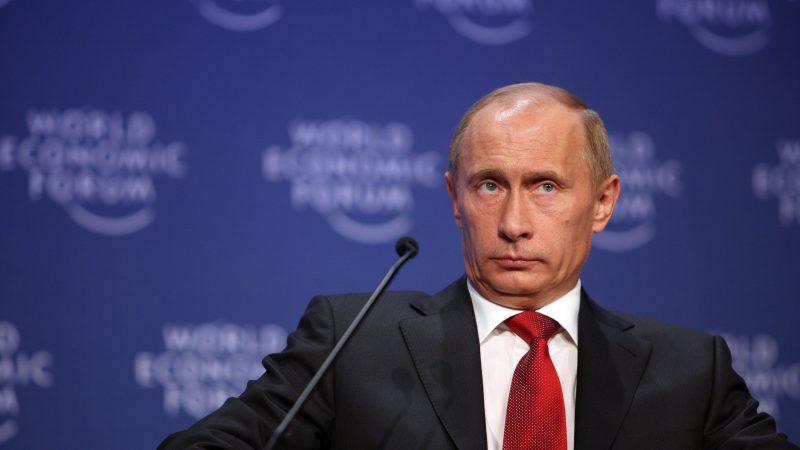 Prezydent Rosji Władimir Putin, źródło: Flickr/World Economic Forum (CC BY-NC-SA 2.0)