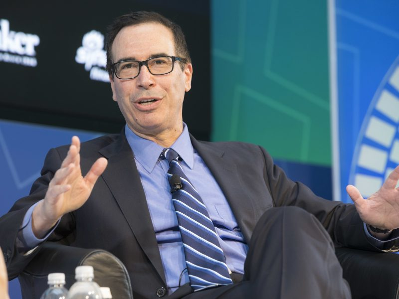 Sekretarz skarbu USA Steven Mnuchin poinformował o wycofaniu się Stanów Zjednoczonych z negocjacji w sprawie globalnego podatku cyfrowego.