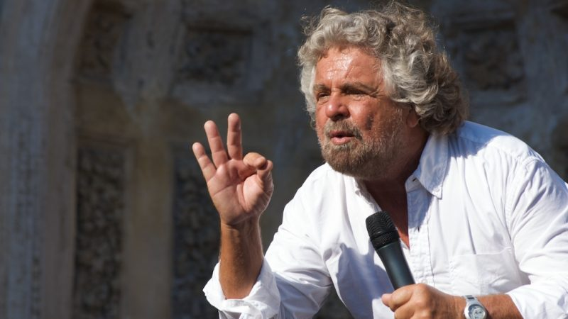 Beppe Grillo, fot. Livax [Flickr]