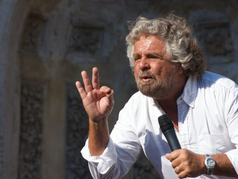 Beppe Grillo, fot. Livax [Flickr]