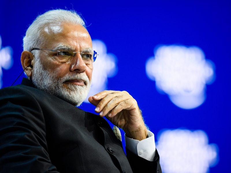 Premier Indii Narendra Modi, fot. World Economic Forum [Flickr]