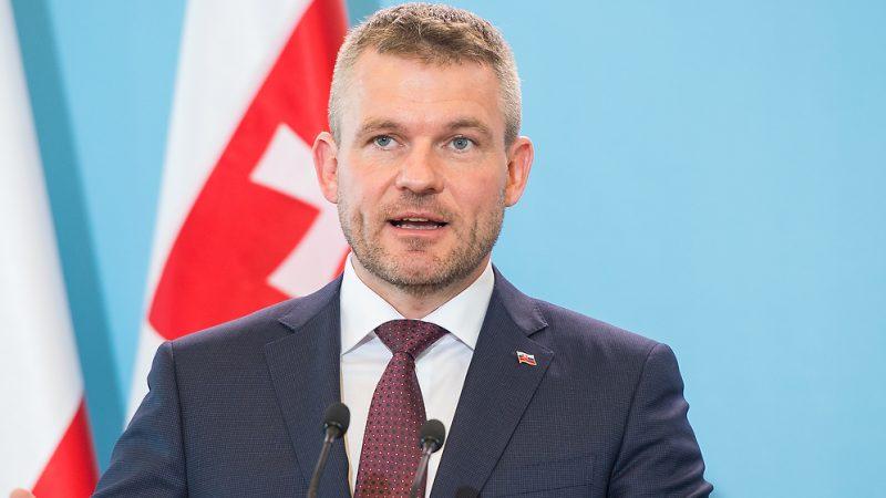 Nowa partia byłego premiera Słowacji Petera Pellegriniego może liczyćw sondażach na drugie miejsce. Źródło: Flickr/Kancelaria Premiera, fot. W. Kompała/KPRM (Public Domain Mark 1.0)