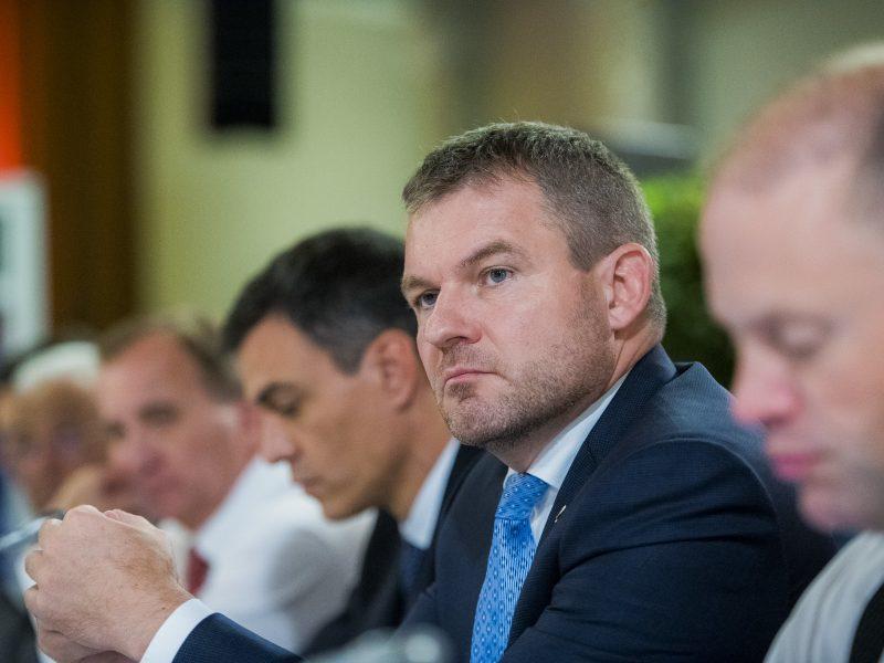 Były premier Słowacji Peter Pellegrini założy nową partię polityczną.