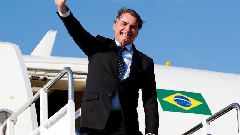 Jair Bolsonar - prezydent Brazylii