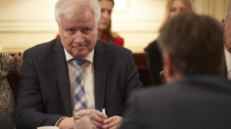 Minister spraw wewnętrznych Niemiec HorstSeehofer.