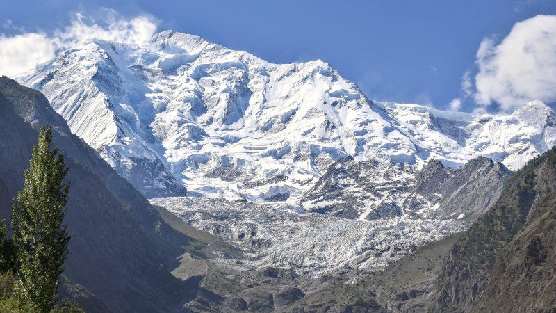 lodowiec w Pakistanie