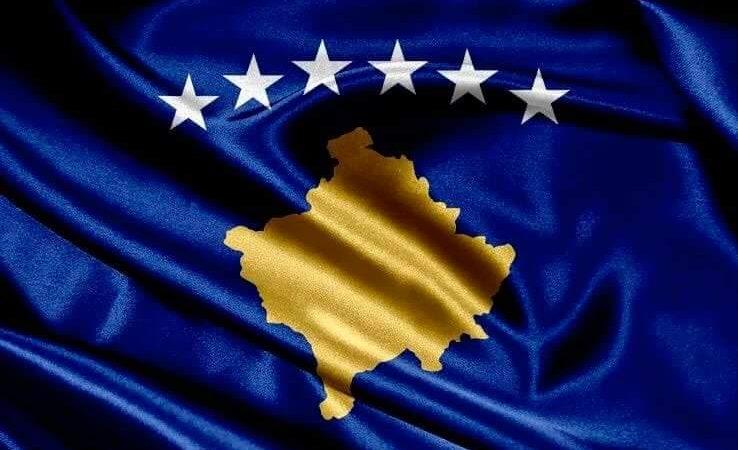 Flaga Kosowa [Twitter @Avdullah Hoti]