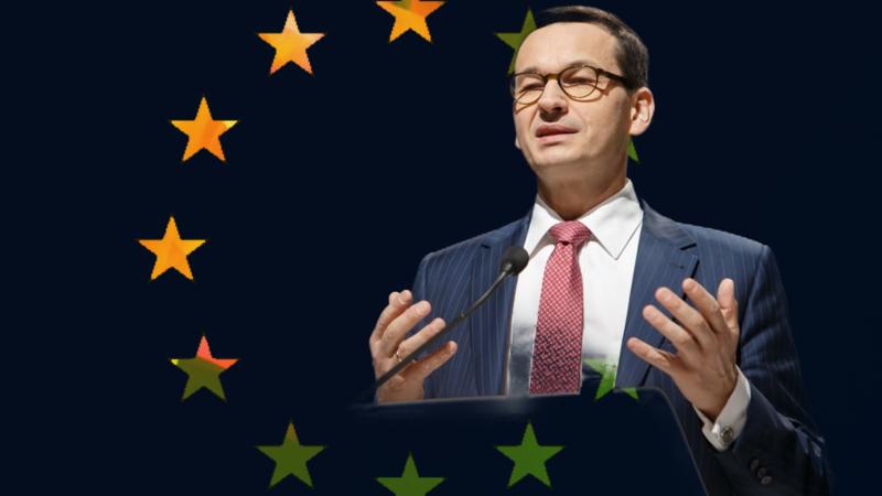 Fejk tygodnia: Polska wynegocjowała już sobie pieniądze z przyszłego unijnego budżetu i z Funduszu Odbudowy UE / Mateusz Morawiecki. Opracowanie: EURACTIV.pl