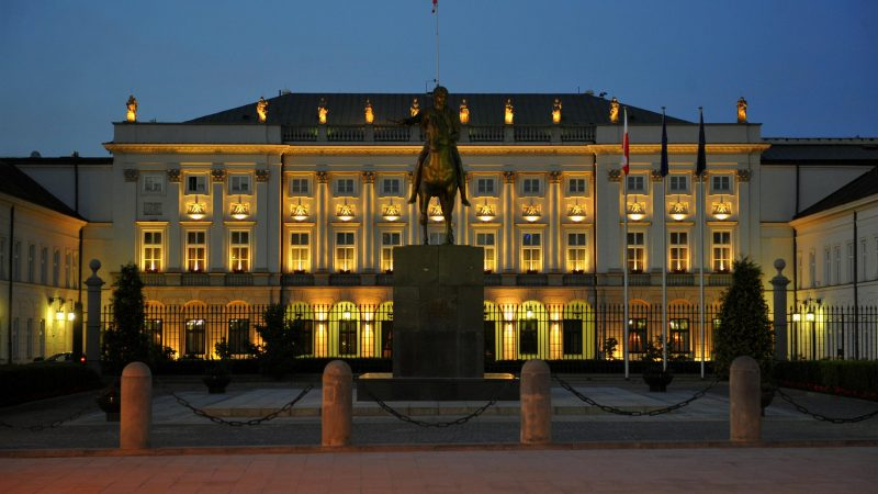 Pałac Prezydencki w Warszawie, fot. WIkimedia Commons